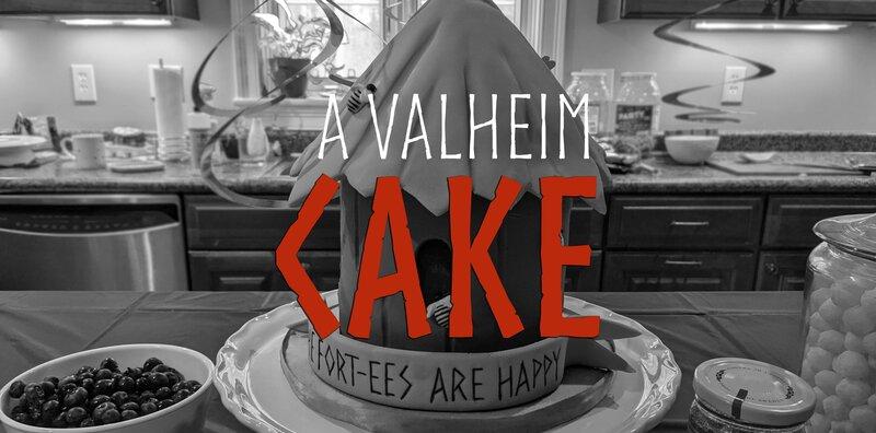 A Valheim Cake