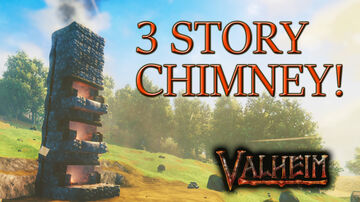 Quick Tip on Chimney Design and Venting multiple Fireplaces. Valheim Article