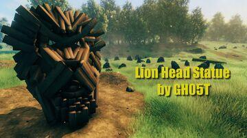Lion Head Statue Valheim Build