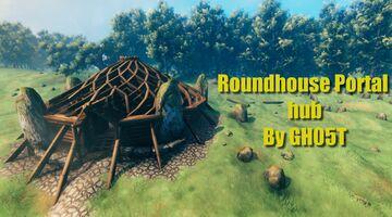 Roundhouse Portal Hub Valheim Build