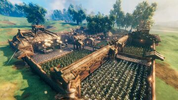 Viking Farmstead Valheim Build