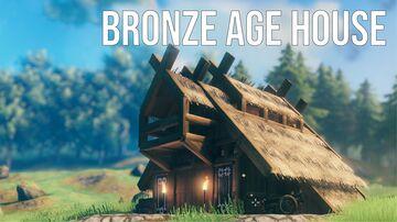 Bronze Age House Valheim Build