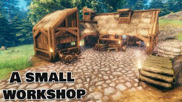 Simple Workshop Valheim Build
