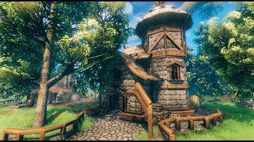 Tavern/house Valheim Build