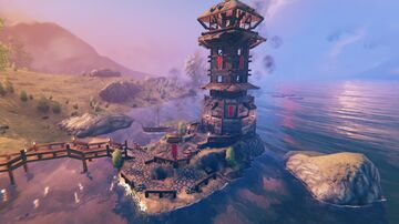 Japanese Lighthouse :3 Valheim Build