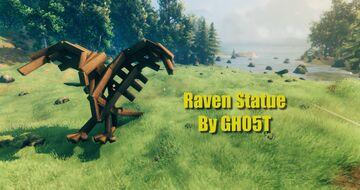 Raven Statue Valheim Build