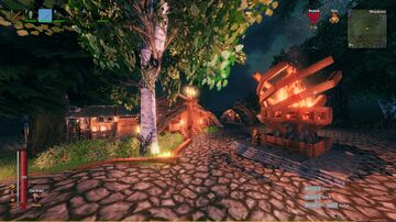 Trxllege Village Valheim Build