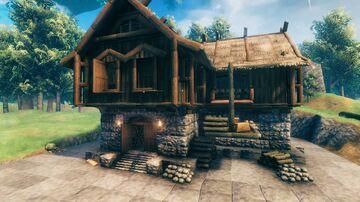 storage house Valheim Build