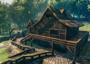 Basic House Valheim Build