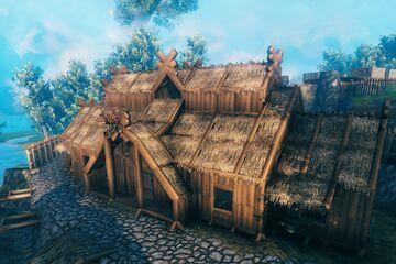 Longhouse Valheim Build