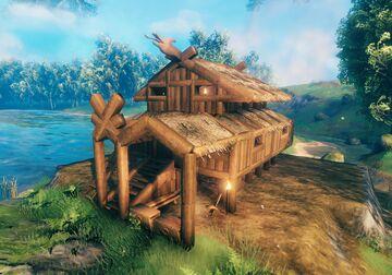 Stilt Home Valheim Build