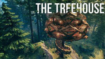 The Treehouse Valheim Build