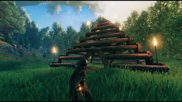 Wooden Pyramid Valheim Build