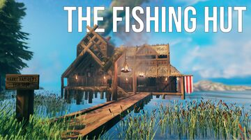 The Fishing Hut Valheim Build