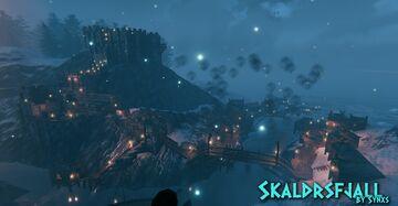 XIII World Map - Skaldrsfjall Valheim Build