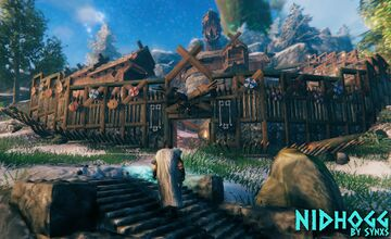 XIII World Map - Nidhogg + Dragon Valheim Build