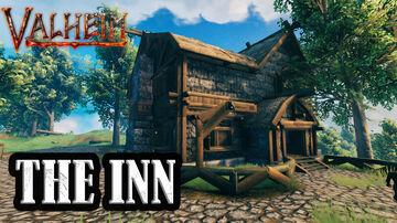 Medieval INN Valheim Build
