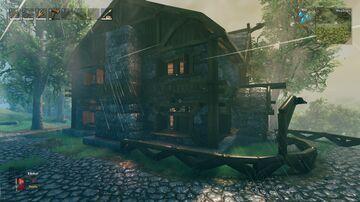 The inn Valheim Build