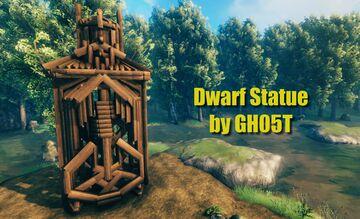 Dwarf Statue Valheim Build