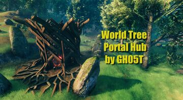 World Tree Portal Hub Valheim Build