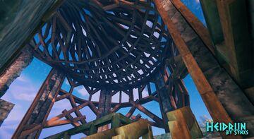 XIII World Map - Heidrun - Pier & Citidel link - IN PROGRESS Valheim Build