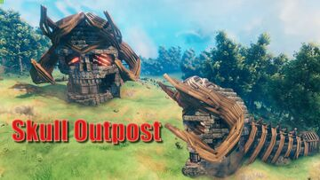 Skull Outpost Valheim Build