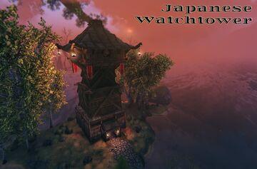 Japanese Watchtower Va1 Valheim Build