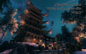 Japanese Watchtower Va2 Valheim Build