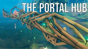 The Portal Hub Valheim Build