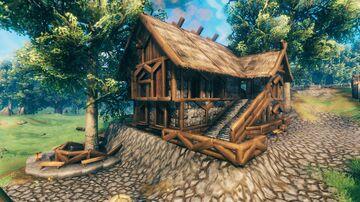 Medieval house #1 Valheim Build