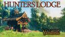 Saxon Hunters Lodge Fly-though. Valheim Build