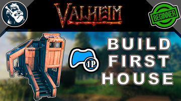 How to Build a Minimalistic Starting Base -  For 1 Player - Tutorial Valheim Build