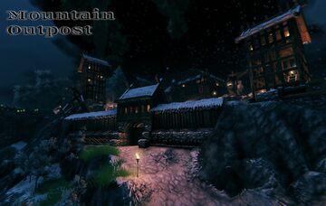 Mountain Outpost Valheim Build