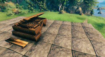 Grand Piano Valheim Build