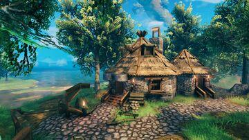 Hagrid's hut Valheim Build