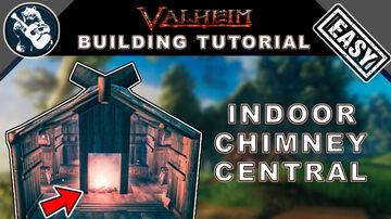 Indoor Central Chimney - Tutorial Valheim Build