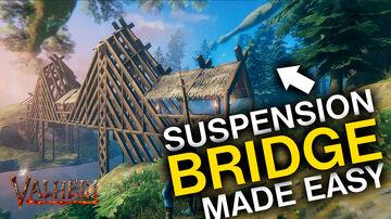 Valheim How to build a Bridge - Infrastructure Valheim Build