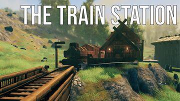 The Train Station Valheim Build