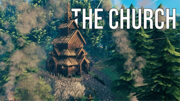 The Church Valheim Build