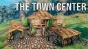 The Town Center Valheim Build