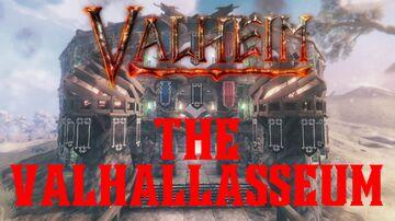 The Valhallasseum by SiLVRViRUS Valheim Build