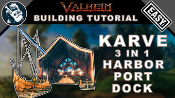 How to Build a Dock for your Karve Valheim Build