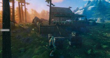Blackforest Hut Valheim Build