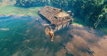 Modified Historical German Blackforest Farmhouse Valheim Build