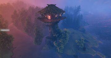 Pillar House Valheim Build