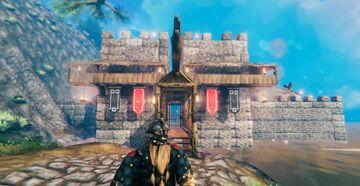 Big Stone Fort Valheim Build