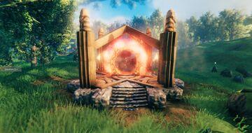 Decorative portal building  #9 Valheim Build