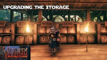 Upgrading my Storage System Valheim Build