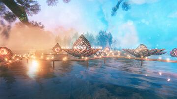 Lotus Village Valheim Build