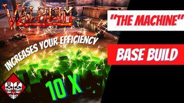 Maximize Your Efficiency | The Machine | Base Build | Valheim | Valheim Build